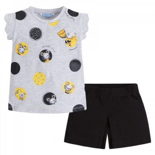 Комплект тениска и къси панталони MAYORAL - 3240-042