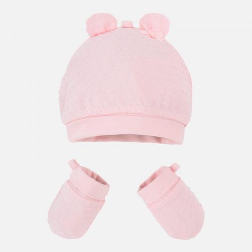 Комплект шапка и ръкавици Mayoral-19916-37