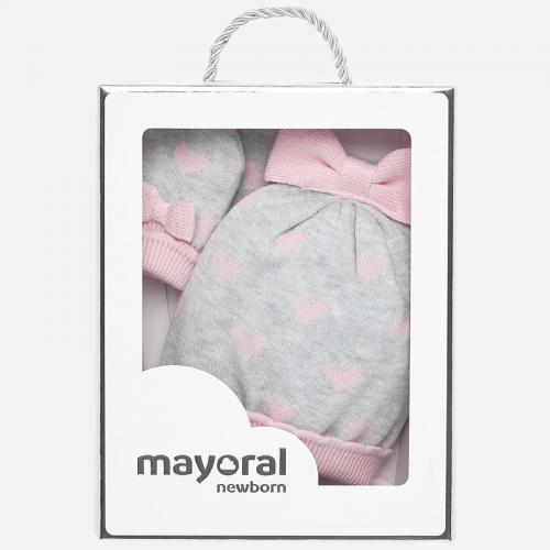 Комплект шапка с ръкавички Mayoral-9176-64