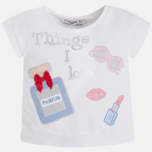 Тениска с къс ръкав Mayoral - 03077-038